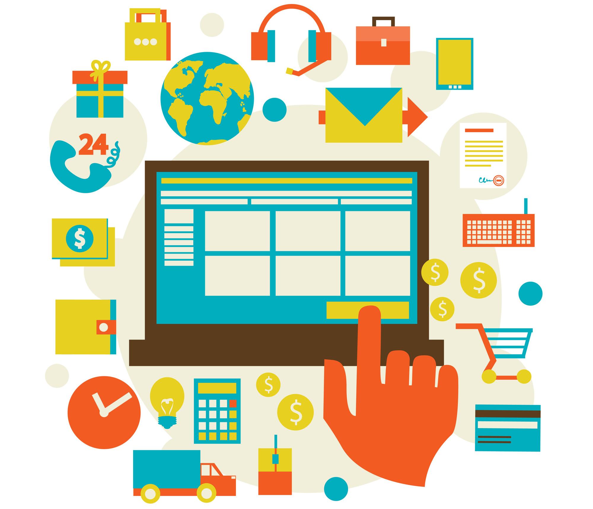 امکانات مورد نیاز وب سایت