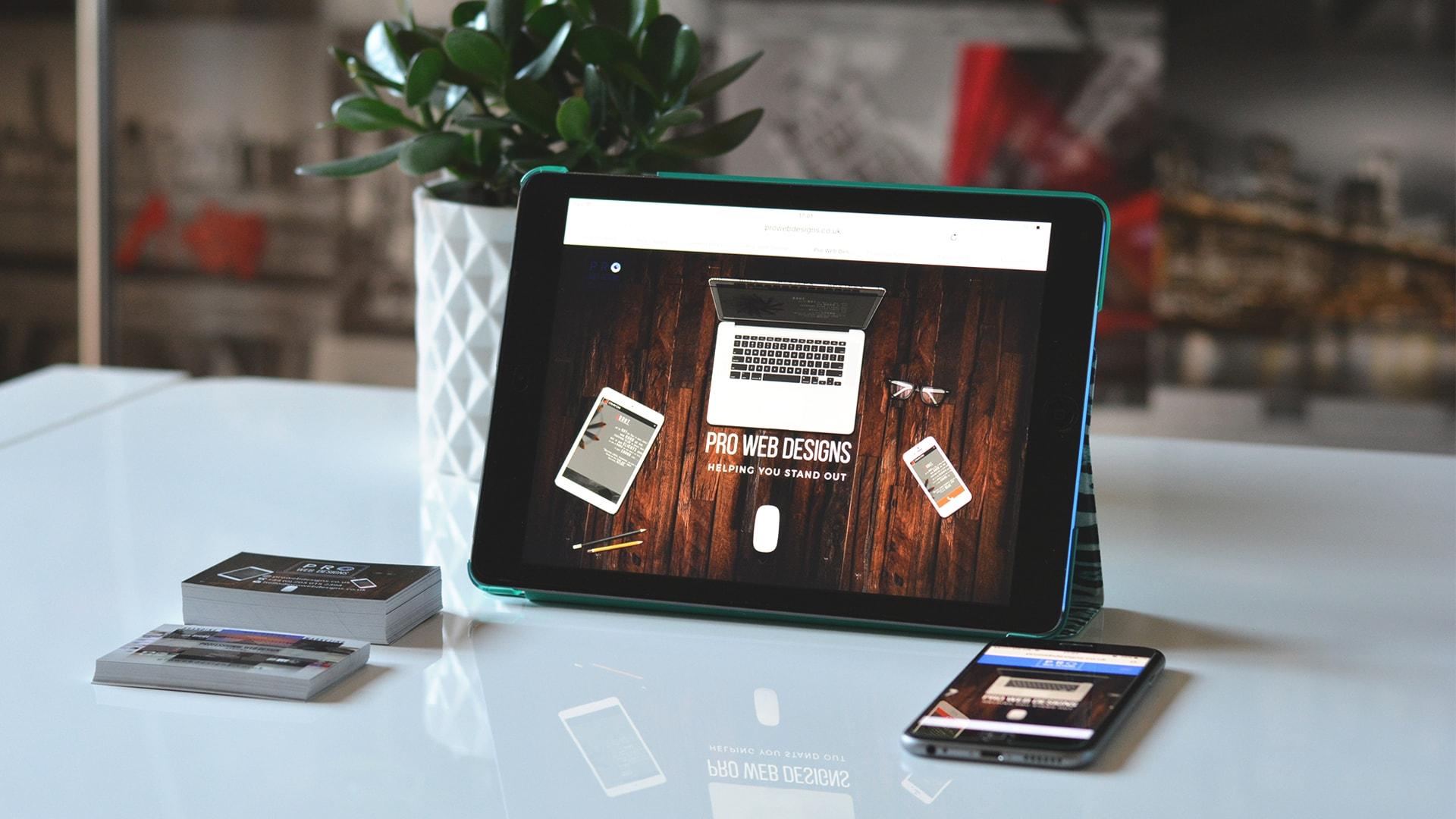 مشخصات طراحی سایت حرفه ای